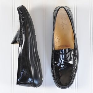 Cole Haan Air Erika Patent Leather Penny Loafers